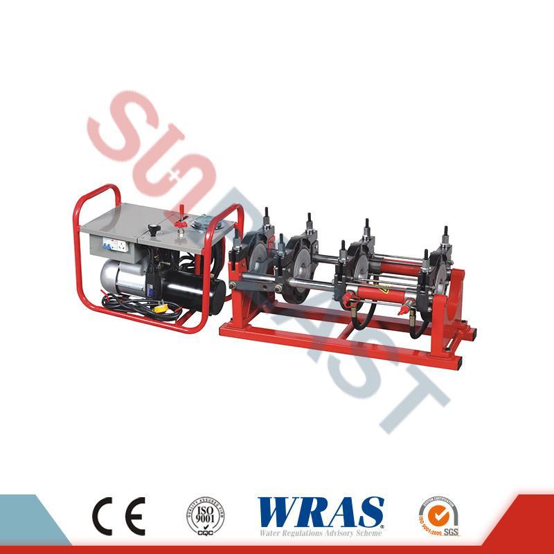 HDPEの管のための63-200mmマニュアル/油圧バット融合溶接機