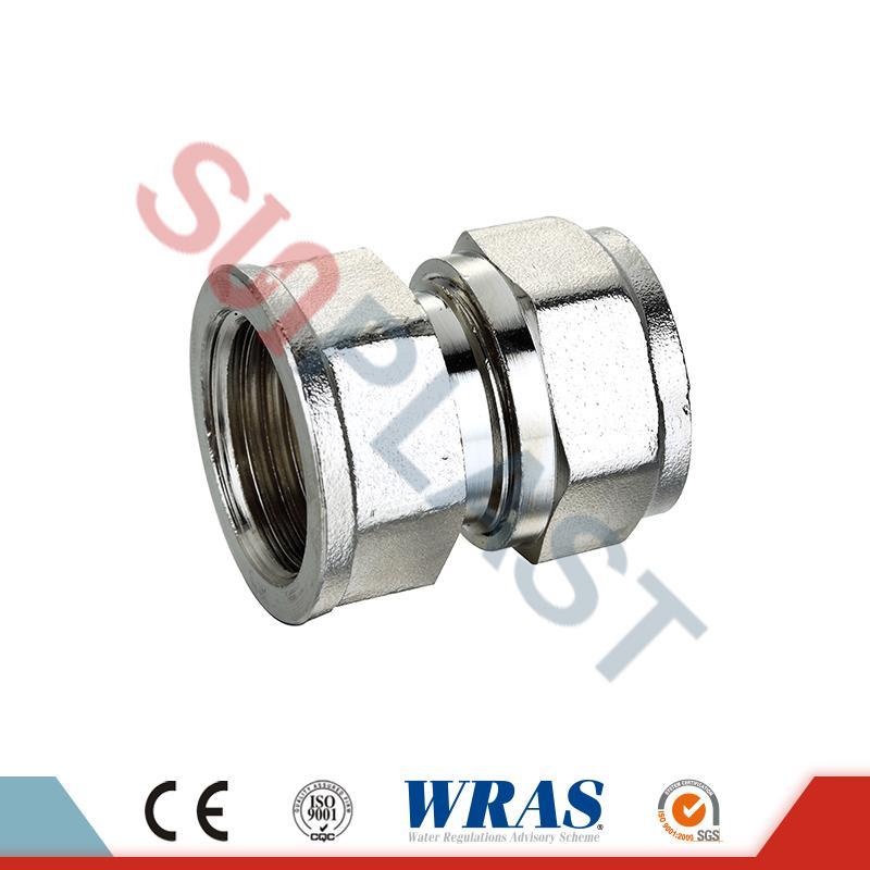 PEX-AL-PEX多層管用真鍮圧縮メスカップリング