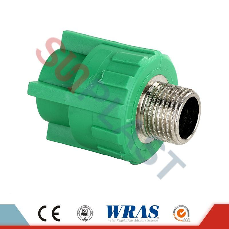 DIN8078 PPR Male Coupler