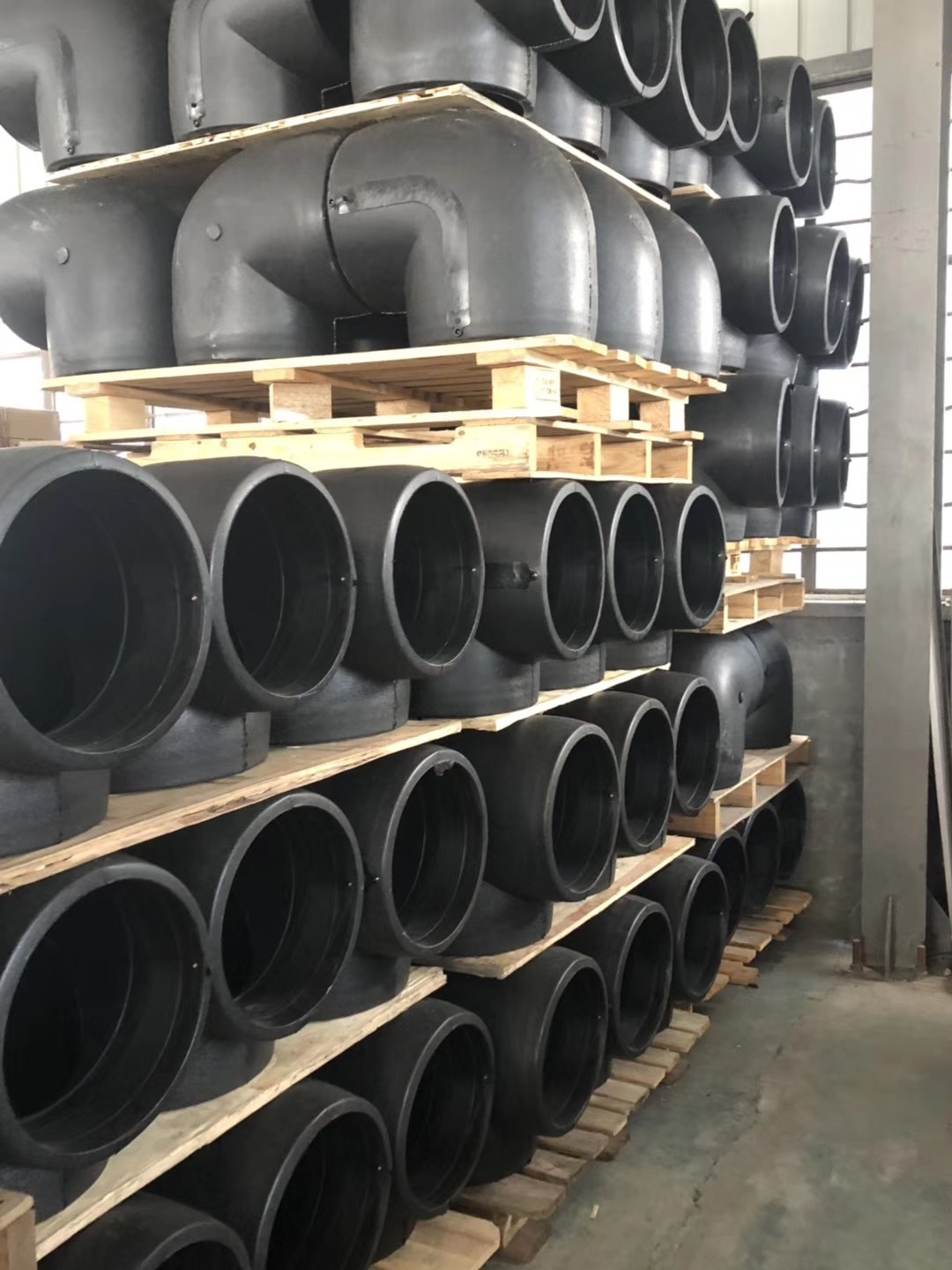 HDPE Pipe Electrofusion 90 degree elbow
